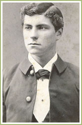 Ferdinand VB, circa 1876. Photo gracieuset� du Lexington Military Institute, Virginie.